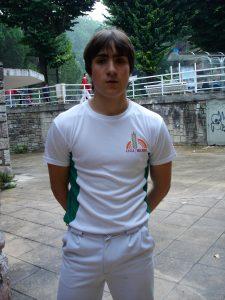 Josu Zezeaga, superstar azken partiduan Antiguan.