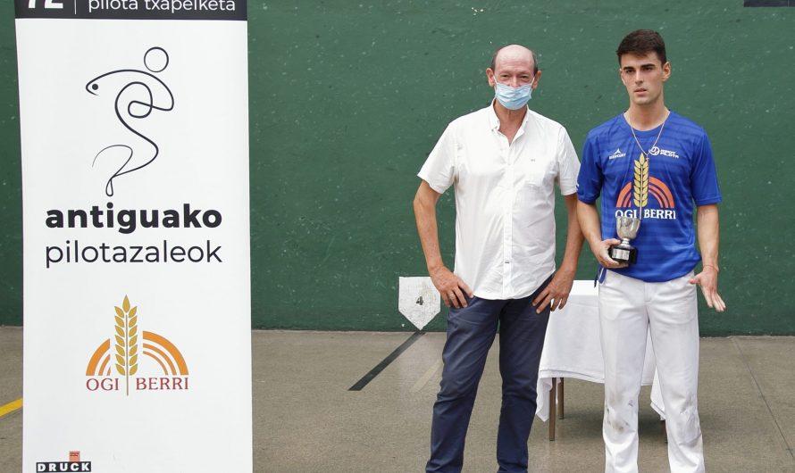 72. Antiguako txapelketako banakako sariak – Campeones de los premios individuales de la 72 edición del torneo